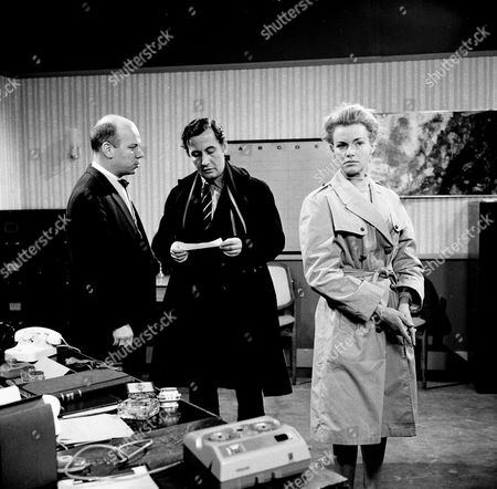 Kenneth J Warren, Alan Browning and Honor Blackman
