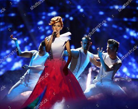 Aliona Moon representing Moldova