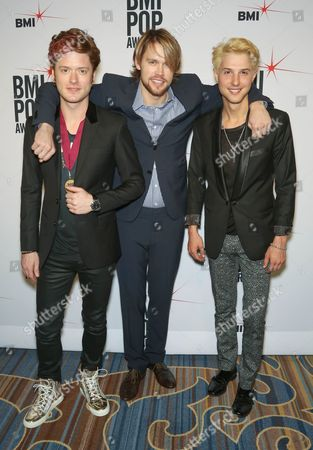 Hot Chelle Rae - Nash Overstreet, Ryan Keith Follese with Chord Overstreet (centre)