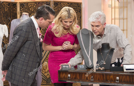 James Sherwood with Holly Willoughby and Phillip Schofield