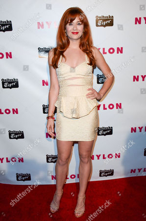 Editorial image of NYLON Young Hollywood issue party, Los Angeles, America - 14 May 2013