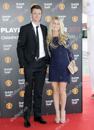 Jonny Evans and girlfriend Helen McConnell