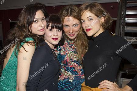Melanie Bond, Nathalie Carrington, Honeysuckle Weeks and Charity Wakefield