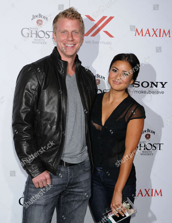 Stock Image of Sean Lowe and Catherine Guidici