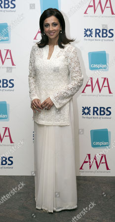 16.05.12. Riz Lateef Attends The Asian Women Of Achievement Awards 2012 At The Hilton On Park Lane London.