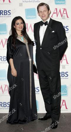 16.05.12. Princess Badiya Bint El Hassan And Ed Blair Attend The Asian Women Of Achievement Awards 2012 At The Hilton On Park Lane London.