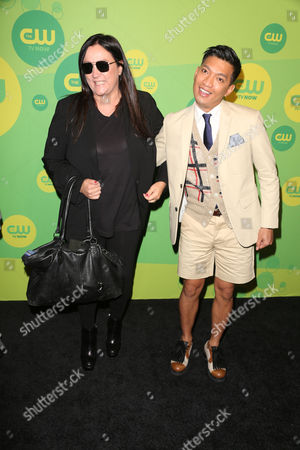 Kelly Cutrone and Bryanboy
