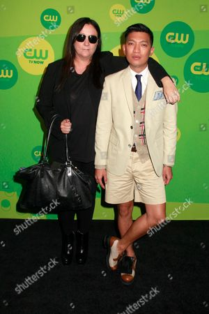 Stock Image of Kelly Cutrone and Bryanboy