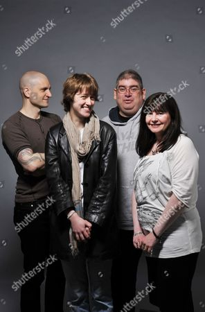Stock Photo of China Mieville Kate Griffin Ben Aaronovitch Suzanne Mcleod