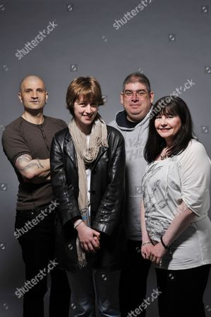 Editorial photo of Fantasy Authors Portrait Shoot