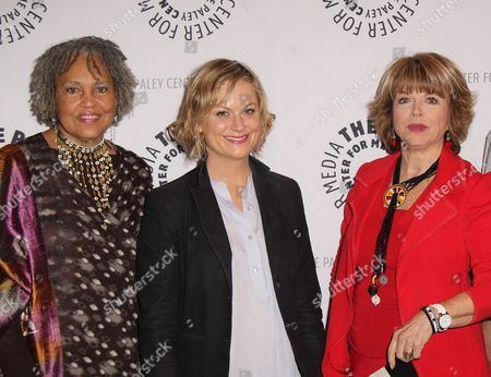 Charlayne Hunter-Gault, Amy Poehler, Pat Mitchell
