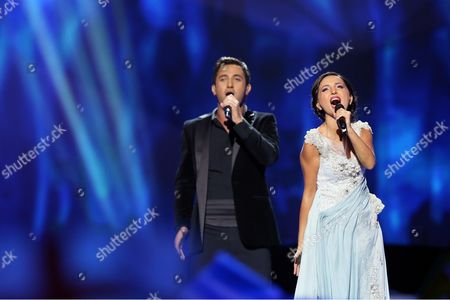 Editorial picture of Eurovision Song Contest 2013, 2nd semi final, Malmo, Sweden - 16 May 2013