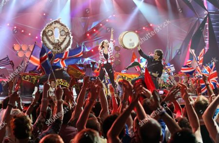 Editorial photo of Eurovision Song Contest 2013, 2nd semi final, Malmo, Sweden - 16 May 2013