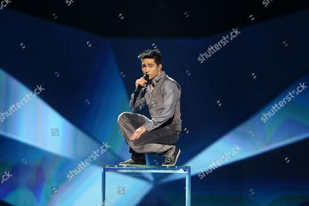 Farid Mammadov representing Azerbaijan