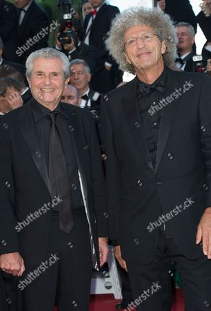 Elie Chouraqui and Claude Lelouch