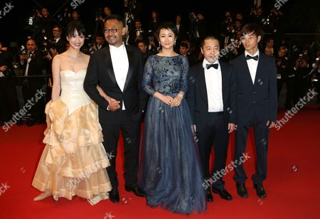 Editorial picture of 'A Touch of Sin' film premiere, 66th Cannes Film Festival, France - 17 May 2013