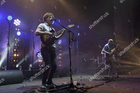 Editorial picture of Alt-J in concert at Brixton Academy, London, Britain - 17 May 2013