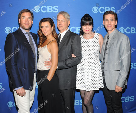 Michael Weatherly and Cote De Pablo and Mark Harmon and Pauley Perrette and Brian Dietzen