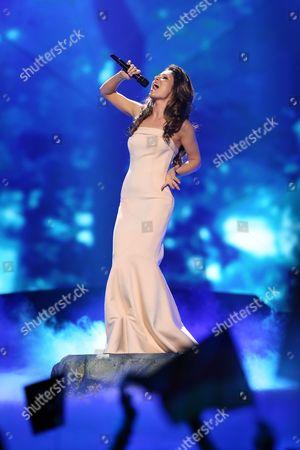 Zlata Ognevich representing Ukraine