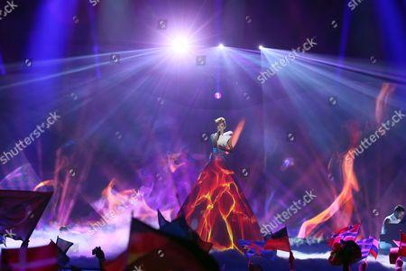 Stock Photo of Aliona Moon representing Moldova
