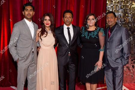 Stock Picture of Himesh Patel, Shivani Ghai, Phaldut Sharma, Nina Wadia, Nitin Ganatra