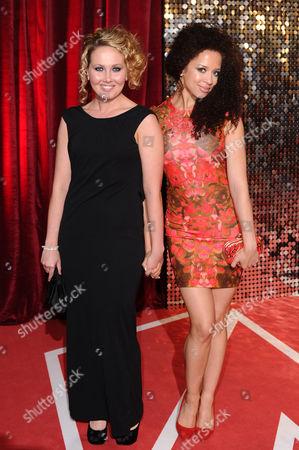Rebecca Atkinson and Natalie Gumede