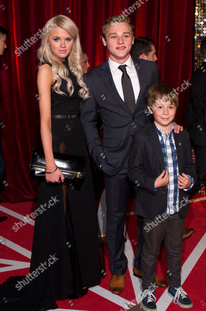 Hetti Bywater, Ben Hardy and Rory Stroud
