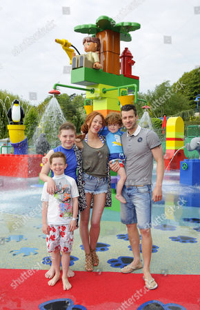 Editorial photo of DUPLO Valley Splash and Play attraction at the LEGOLAND Windsor Resort, Britain - 19 May 2013