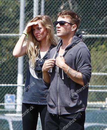 Ryan Phillippe and girlfriend Paulina Slagter