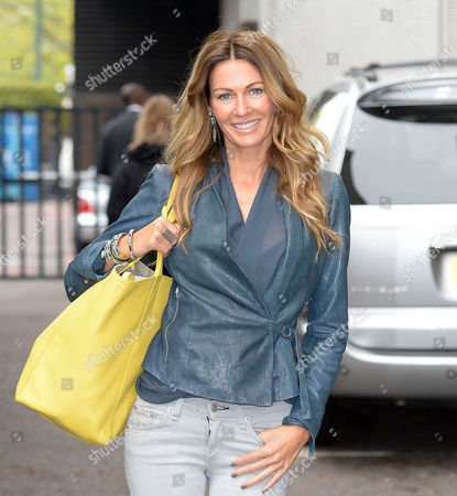 Editorial photo of Celebrities outside ITV studios, London, Britain - 20 May 2013