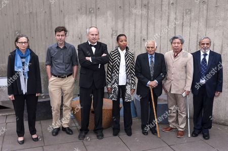 Editorial image of Man Booker International Prize finalists photocall, Southbank Centre, London, Britain - 20 May 2013