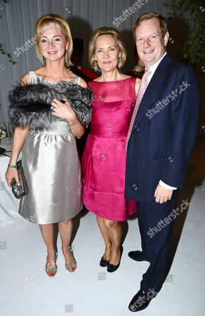 Carla Bamberger with Lord and Lady Derby