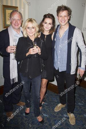 Jonathan Coy (Philip), Felicity Kendal (Sheila), Kara Tointon (Ginny) and Max Bennett (Greg)