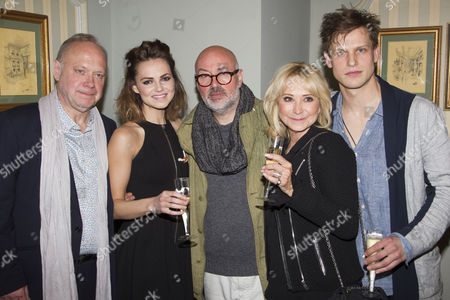 Editorial image of 'Relatively Speaking' play press night, London, Britain - 20 May 2013