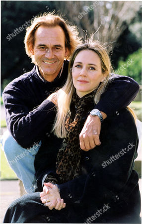 Stock Photo of African Wildlife Conservationist Tony Fitzjohn And Wife Lucy. Lucy Mellotte Was 18 Years Old And The Convent-educated Daughter Of A Banker From Surrey While Tony Fitzjohn Was 22 Years Her Senior And An Orphaned Delinquent Who Was Involved In Heavy Drinking And Drug-taking. They Met In Tanzania And Now Live And Work Together To Protect The Wildlife Of Tanzania.