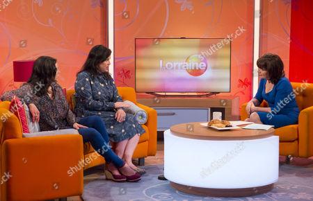 Kirstie Allsopp and Sofie Allsopp with Lorraine Kelly
