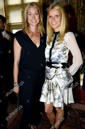 Editorial image of GOOP party to launch the summer season at Mark's Club, London, Britain - 21 May 2013