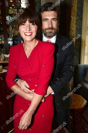 Davina McCall and Matthew Robertson