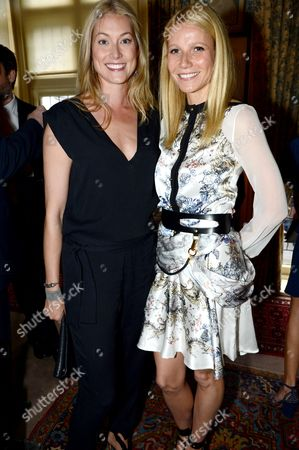 Gwyneth Paltrow and Heidi Bishop