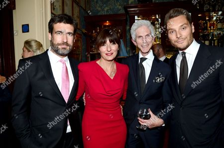 Davina McCall, Matthew Robertson, Richard Buckley and Seb Bishop