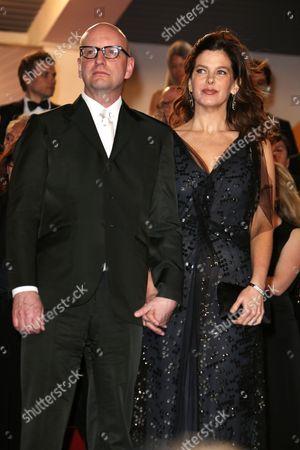 Stock Image of Steve Soderbergh and Jules Asner