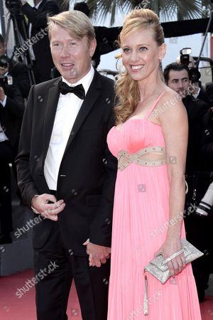 Mika Hakkinen and Marketa Kromatova