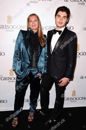 Eva Cavalli and son Robert Cavalli