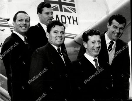 Golfer Dai Rees At Lap On Way To Milan Front Row Dai Rees Ken Bousfield John Jacobs Back Row Max Faulkner Ad Peter Alliss David James Rees Cbe (31 March 1913 Oo 10 September 1983) Was One Of The Britain's Leading Golfers Either Side Of World War Ii. The Winner Of Many Prestigious Tournaments In Britain Europe And Farther Afield Rees Is Best Remembered As The Captain Of The Great Britain Ryder Cup Team Which Defeated The United States At Lindrick Golf Club In Yorkshire England In 1957.[2] It Was The Only Defeat Which The United States Suffered In The Competition Between 1933 And 1985.
