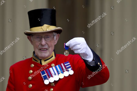 Editorial image of Investitures at Buckingham Palace, London, Britain - 21 May 2013
