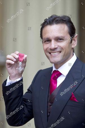 Mark Ramprakash recieves the OBE