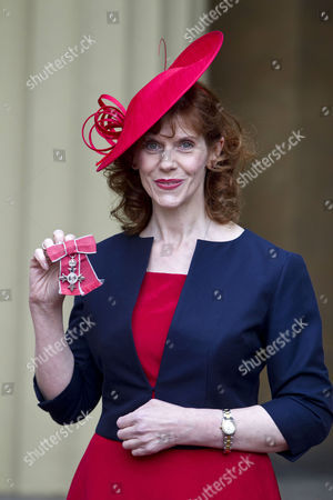 Siobhan Redmond gets the OBE for services to Drama