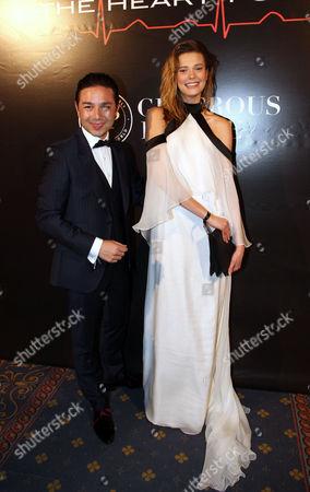 Stock Photo of Martha Streck and David Luu