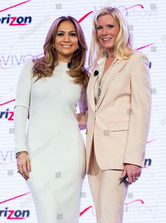 Stock Picture of Jennifer Lopez and Marni Walden