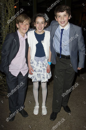 Harry Bennett (Dill), Izzy Lee (Scout) and Adam Scotland (Jem)